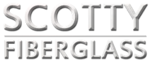 Logo, Scotty Fiberglass - Boat Repair